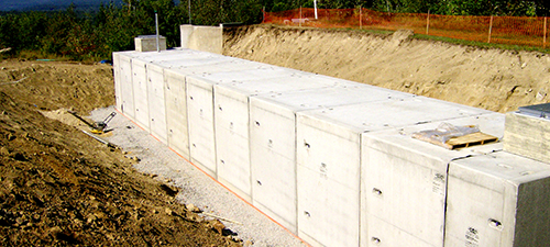 fire cisterns and utility tanks